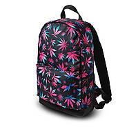 Яскравий рюкзак з принтом Коноплі, кольоровий. Для подорожей, тренувань, навчання, фото 7