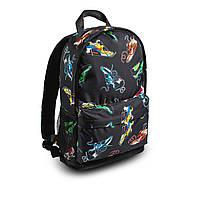Яскравий рюкзак з принтом кросівки кольорові Air Max. Для подорожей, тренувань, навчання, фото 4