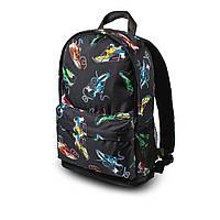 Яскравий рюкзак з принтом кросівки кольорові Air Max. Для подорожей, тренувань, навчання, фото 5