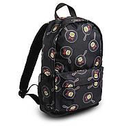 Яскравий рюкзак з принтом черепки сковорода. Для подорожей, тренувань, навчання, фото 4