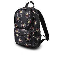 Яскравий рюкзак з принтом черепки сковорода. Для подорожей, тренувань, навчання, фото 6