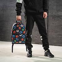 Классный рюкзак с принтом Монстрики. Для путешествий, тренировок, учебы, фото 7