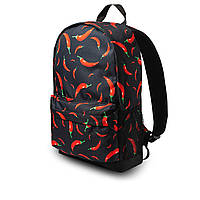 Класний рюкзак з принтом перець Чилі. Для подорожей, тренувань, навчання, фото 2