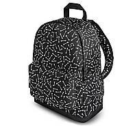 Классный рюкзак с принтом Кости, bones. Для путешествий, тренировок, учебы, фото 5