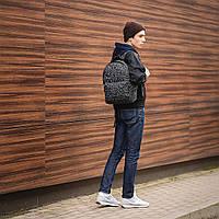 Классный рюкзак с принтом Кости, bones. Для путешествий, тренировок, учебы, фото 6
