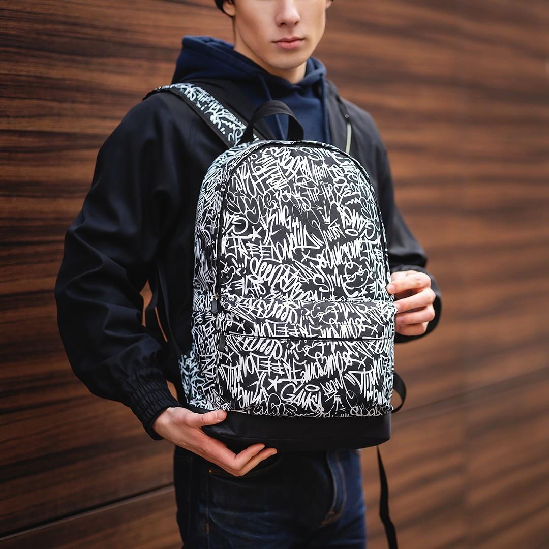 Класний рюкзак з принтом Style. Для подорожей, тренувань, навчання