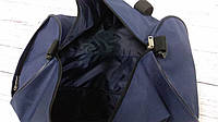 Спортивна сумка бочонок Triumph Bag. Для тренувань, подорожей. Синя, фото 5