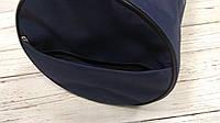 Спортивна сумка бочонок Triumph Bag. Для тренувань, подорожей. Синя, фото 6