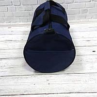 Спортивная сумка бочонок Triumph Bag. Для тренировок, путешествий. Синяя, фото 7
