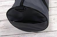Спортивна сумка бочонок Triumph Bag. Для тренувань, подорожей. Сіра, фото 8