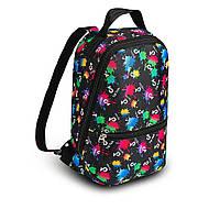 Стильный мини рюкзак с принтом TikTok, тик ток. Для детей и взрослых, фото 2