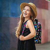 Стильный мини рюкзак с принтом TikTok, тик ток. Для детей и взрослых, фото 3