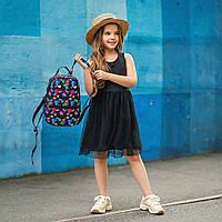 Стильный мини рюкзак с принтом TikTok, тик ток. Для детей и взрослых, фото 4