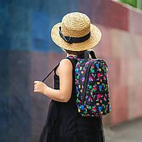 Стильный мини рюкзак с принтом TikTok, тик ток. Для детей и взрослых, фото 6
