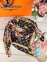 Шелковый платок Louis Vuitton (Луи Витон) ЛВ топ продаж