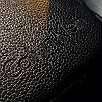 Стильная мужская барсетка, планшет из экокожи Calvin Klein, Кельвин кляйн. Черная, фото 4