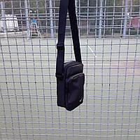 Черная спортивная сумка, барсетка найк, Nike., фото 3