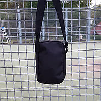 Черная спортивная сумка, барсетка найк, Nike., фото 7