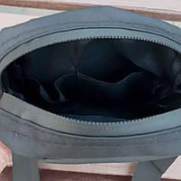 Чорна спортивна сумка, барсетка найк, Nike., фото 9