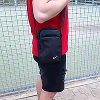 Черная спортивная сумка, барсетка найк, Nike., фото 10