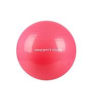 Мяч для фитнеса - 75см. MS 0383 (Красный),Шар для йоги, Мяч для фитнеса для беременных, Мяч для фитнеса