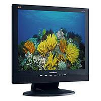 """Монітор 17"""" 1280*1024 ViewSonic VA712b 176/173 яр.350 кін.350 8мс VGA DVI MM чорний бу"""