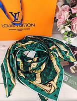 Шелковый платок Louis Vuitton (Луи Витон) ЛВ топ качество