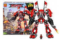 """Конструктор """"NINJAGO MOVIE"""" """"Огненный робот Кая"""" 980 дет. 10720 (аналог Lego Ninjago 70615)"""