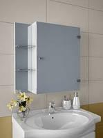 Шкафчик навесной, зеркальный в ванную А-66