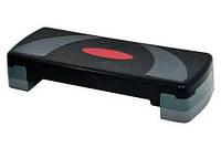 Степ платформа трехступенчатая (подставка доска-степ тренажер для аэробики, фитнеса) OSPORT (MS 0535)
