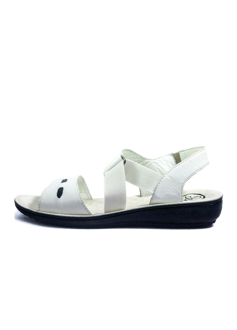 Сандалии женские TiBet 493-02-08 белые (39)