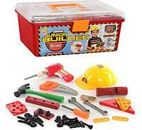 Детский набор инструментов 2058 в чемодане, 41 деталь,Детские инструменты в чемодане, Набор инстументов
