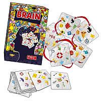 """Настольная игра """"BRAIN"""" MKE0501 от 6-ти лет,Игра детская настольная, Настольные игры для компании, Семейные"""