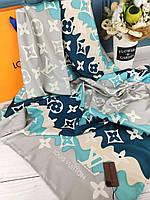 Шелковый платок Louis Vuitton Луи Витон 110*110 см