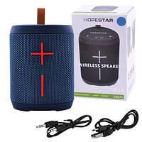 Bluetooth-колонка HOPESTAR-P14, StrongPower, c функцией speakerphone, радио, PowerBank, blue
