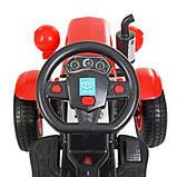 Дитяча машина Трактор M 4261ABLR (2) -3 червоний, фото 4