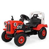 Дитяча машина Трактор M 4261ABLR (2) -3 червоний, фото 7