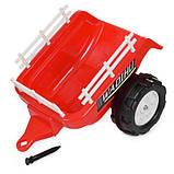 Дитяча машина Трактор M 4261ABLR-3 червоний, фото 6