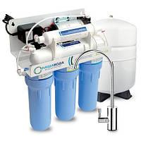 Cистема обратного осмоса Absolute 5-50P с помпой (Наша Вода)