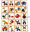Навчальна дерев'яна гра-конструктор-мозаїка геоанимо ze geoanimo., фото 4