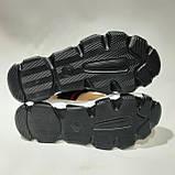 Босоніжки жіночі, сандалі з текстилю на низькому ходу на липучках Чорні, фото 8