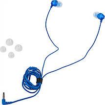 Наушники SONY MDR-EX15LP (MDREX15LPLI.AE) синие, проводные, вакуумные сони, фото 2
