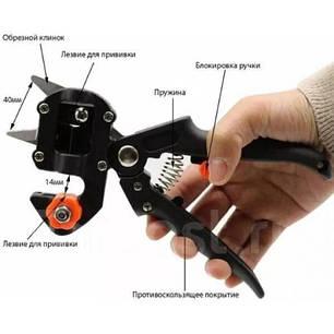 Прищепний Секатор Grafting Tool Professional у валізі, фото 2