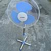 Вентилятор напольный CROWN SILVER 60 Вт, 40 см, фото 2