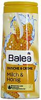 Гель для душа с кремом DM Bаlea Dusche-Creme Milch-Honig 300мл.