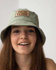 Панамка на літо для дівчинки оптом - Артикул New York 2869