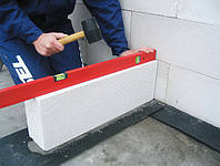 Гидроизоляционная плёнка под первый ряд кладки 0.5х50 м.п.
