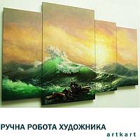 Заказать художнику копии картины великих художников Картина живопись маслом на холсте заказ Ручная работа