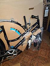 """Велосипед міський жіночий 26"""" Discovery Prestige Woman 2021 рама 17"""" чорно-білий з сірим"""