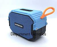 Портативная Bluetooth колонка HOPESTAR T8 (синий)